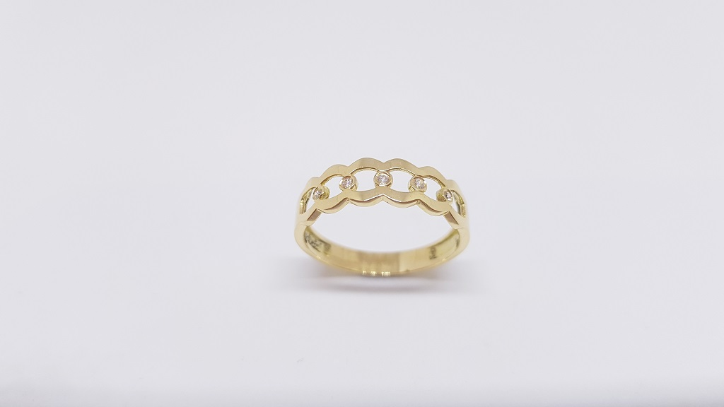 04efecc47b56 Anillos de Oro para Mujer  Anillo Cadena