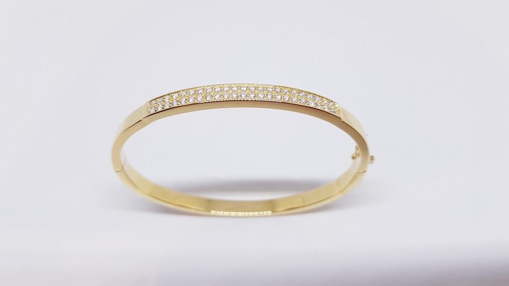 d5fdc4b1d9d8 Esclavas de Oro para Mujer  Esclava Doble Fila 1
