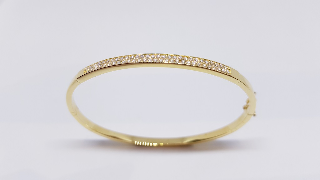 Esclavas de oro para mujer
