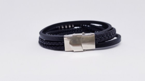 pulsera-acero-five-black2